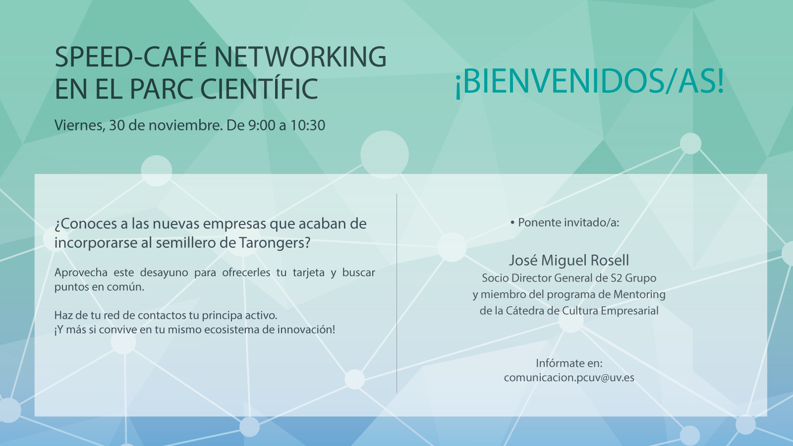 Speed-Café Networking